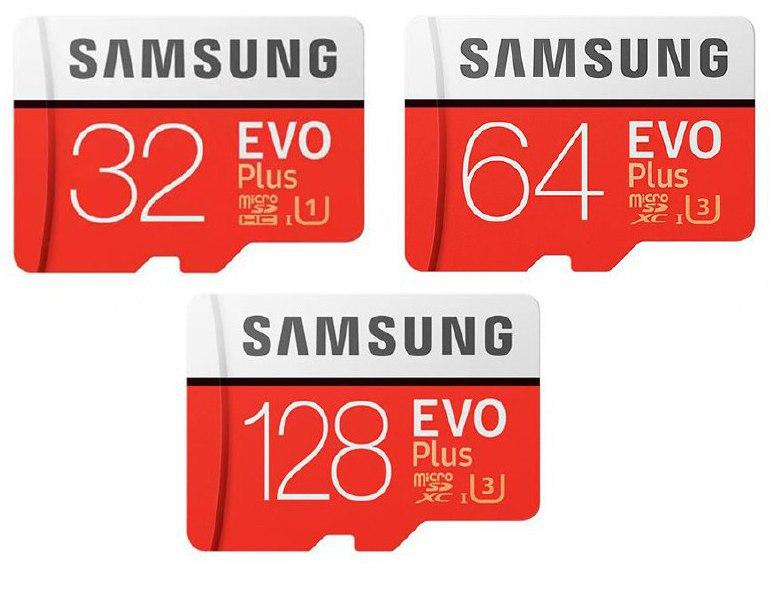 Tarjetas MicroSD Samsung EVO+ PLUS