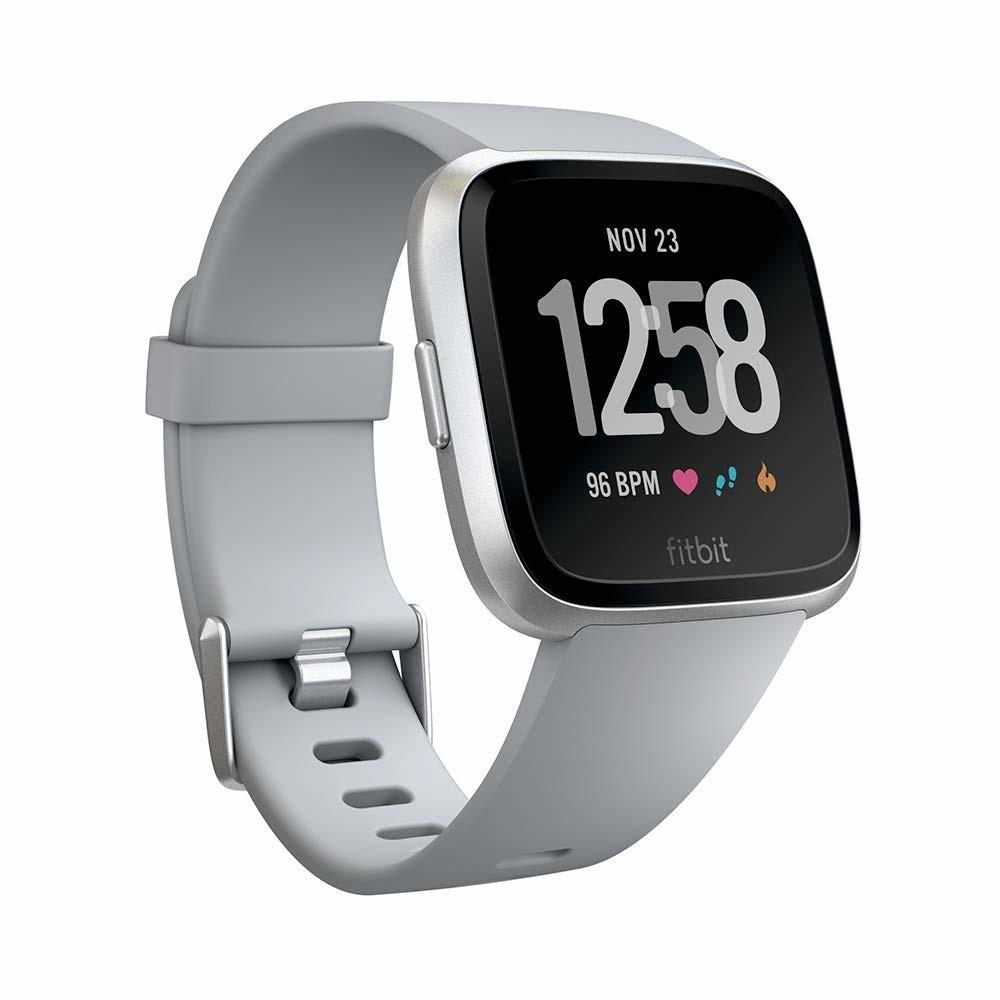 Fitbit Versa Reloj Inteligente Plata