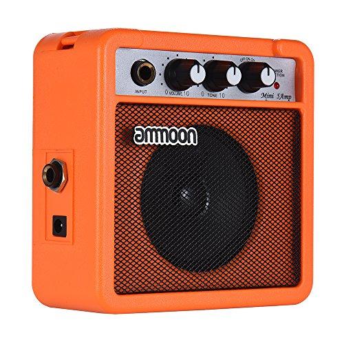 ammoon Amplificador para Guitarra Acústica/Eléctrica
