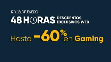FNAC: HASTA 60% DTO EN GAMING - Sólo 17 y 18 de Enero.