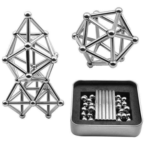 Juego magnético 63 piezas solo 7.8€