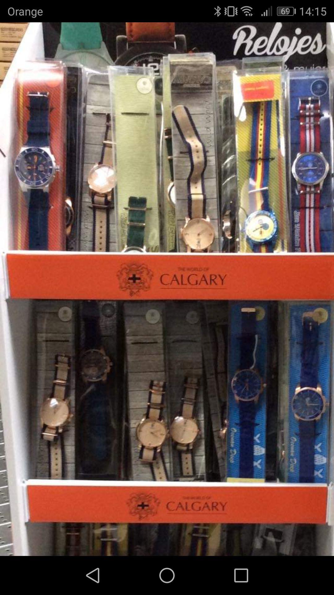 RELOJ DE HOMBRE O MUJER de regalo con 40€ de compra Calgary Carrefour