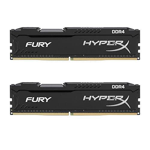 HyperX Fury - Kit de Memoria RAM de 16 GB (2x8 GB, 2400MHz, DDR4, CL15 DIMM)
