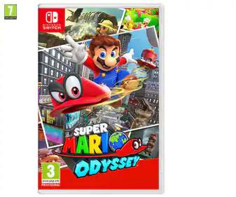 Super Mario Odyssey para Switch