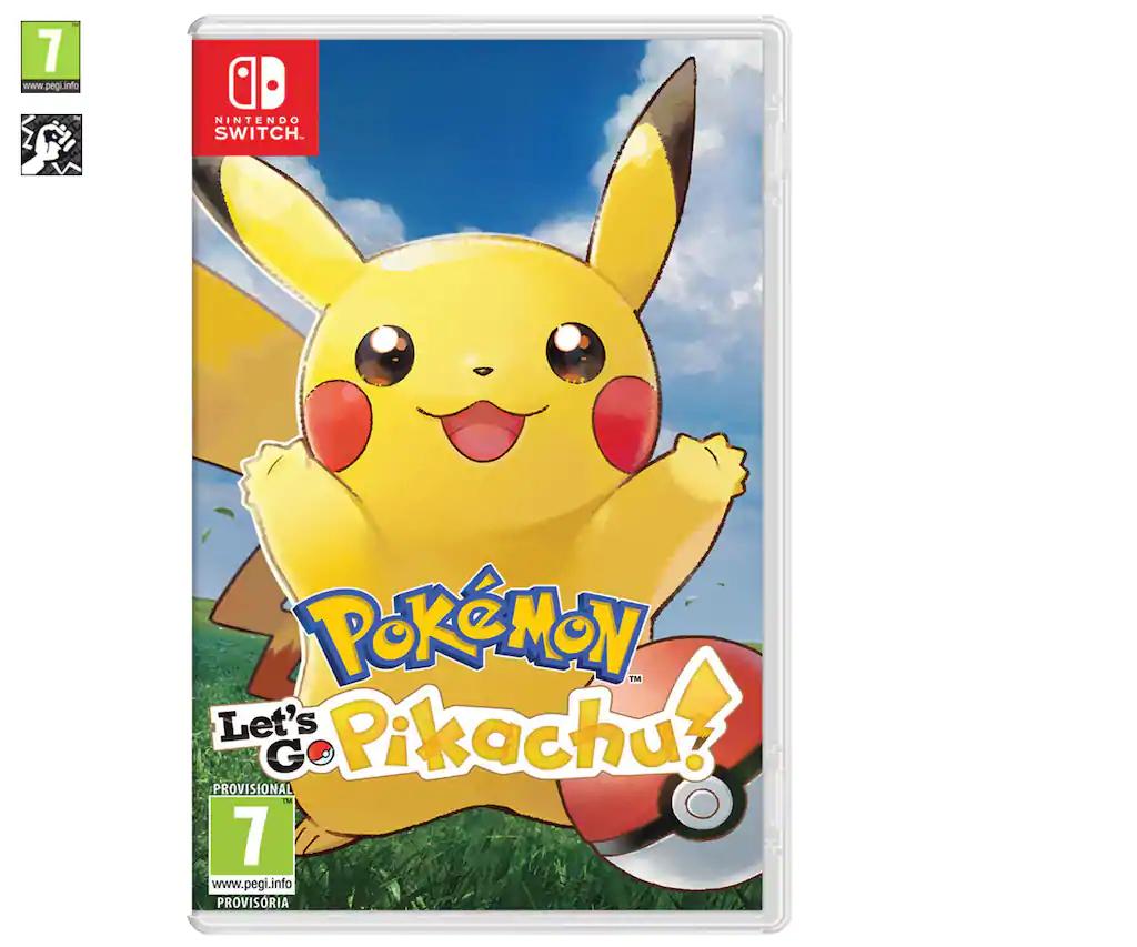 Pokemon Let's Go Pikachu & Eevee