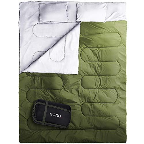 Eono. Saco de Dormir Plegable, Saco de Acampada Ultraligero Portátil