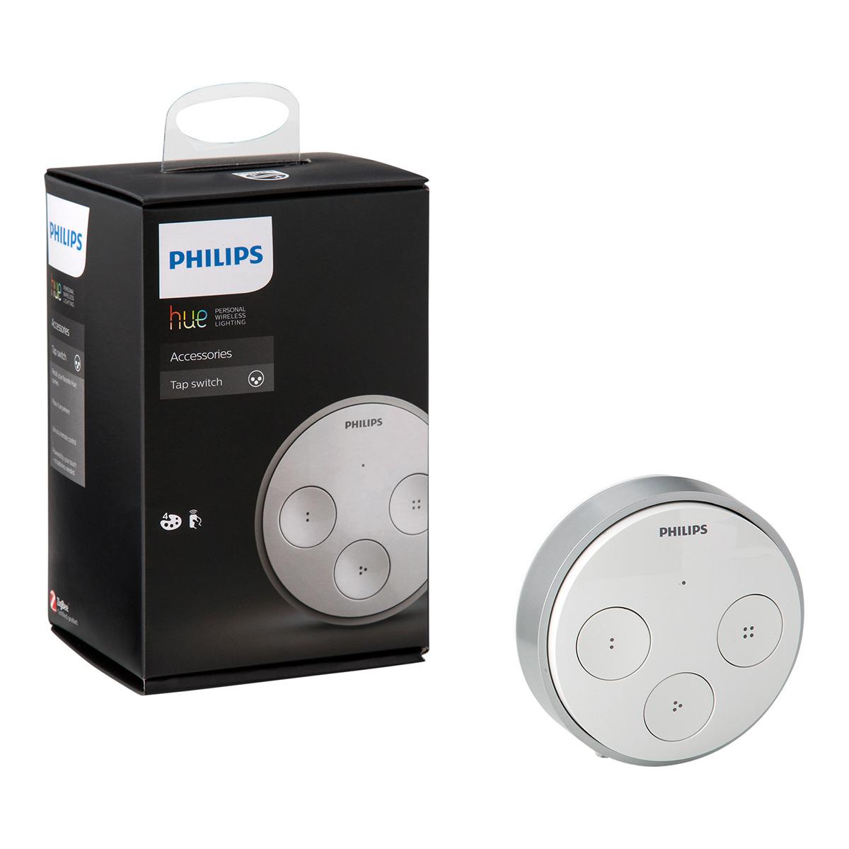 Interruptor inteligente, inalámbrico y portátil Hue Tap Philips