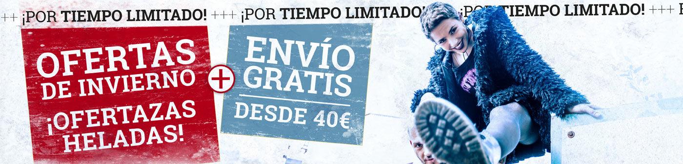 EMP 20% extra artículos ya rebajados + envío gratuito desde 40 euros