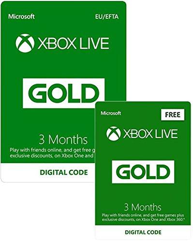 8 meses Xbox Live Gold