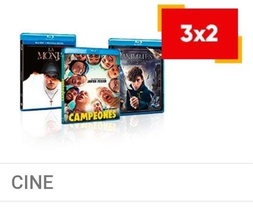 3x2 en Blu-ray y DVD Fnac