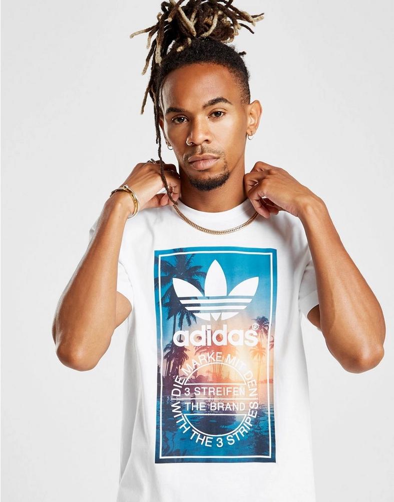 adidas Originals camiseta Trefoil Photo Palm