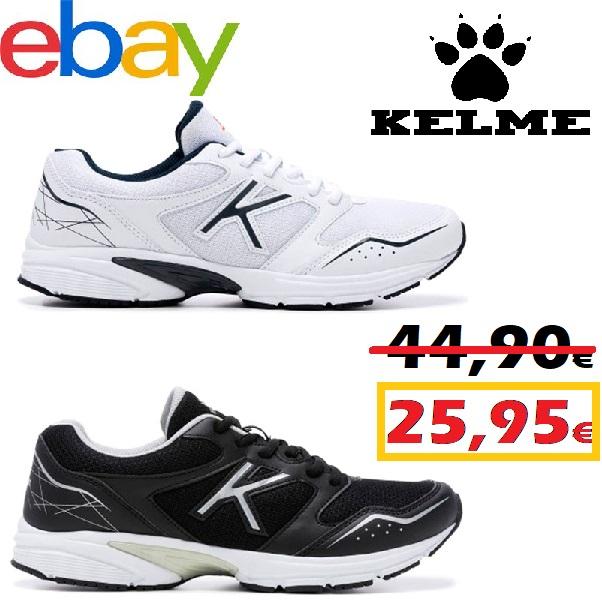 Zapatillas de running Kelme K-20 con un 42% de descuento en eBay