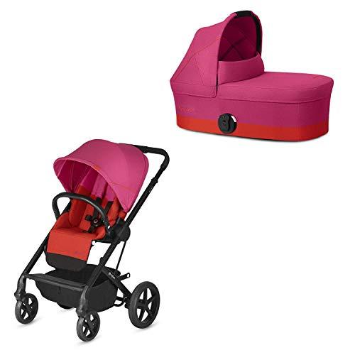 Cochecito Balios S con silla reversible y con capazo S
