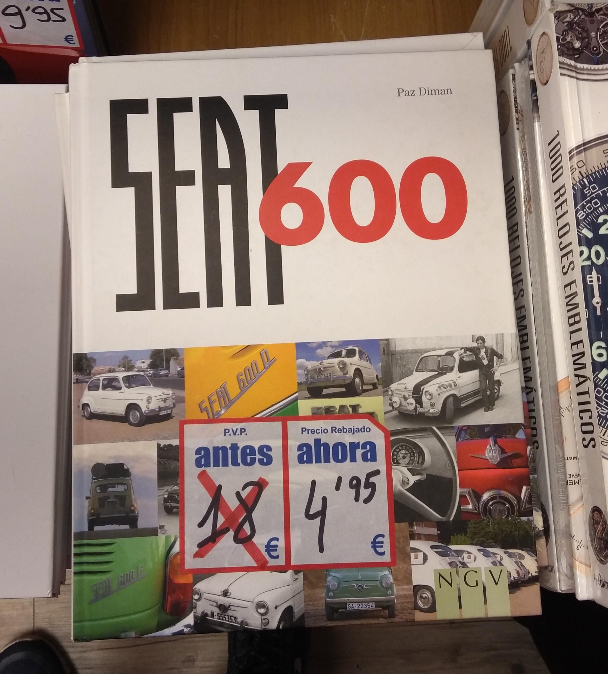 Libro Seat 600 en Book Center