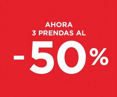 Desigual - 50% al comprar 3 prendas