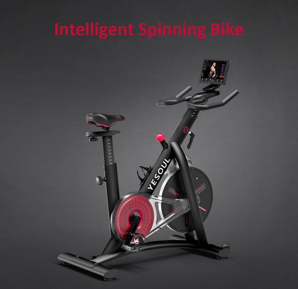 Bicicleta de Spinning inteligente YESOUL M3 de Xiaomi youpin - NEGRO
