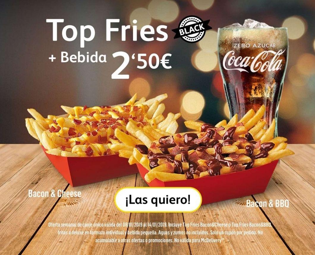 Top Fries + Bebida