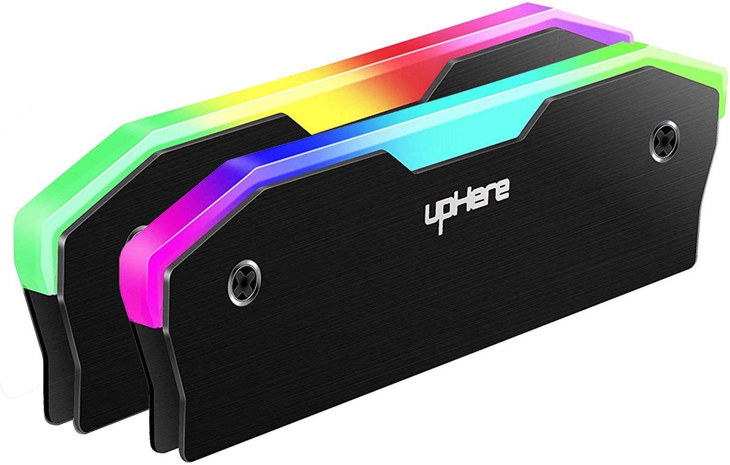 Disipador Térmico RGB De Aluminio para RAM