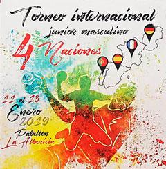 Entradas gratis torneo internacional 4 naciones balonmano junior Santander