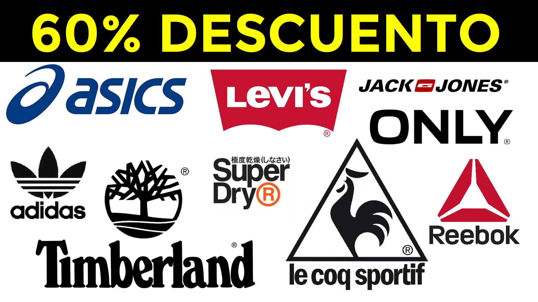 Descuentos de hasta el 60% en ropa y calzado