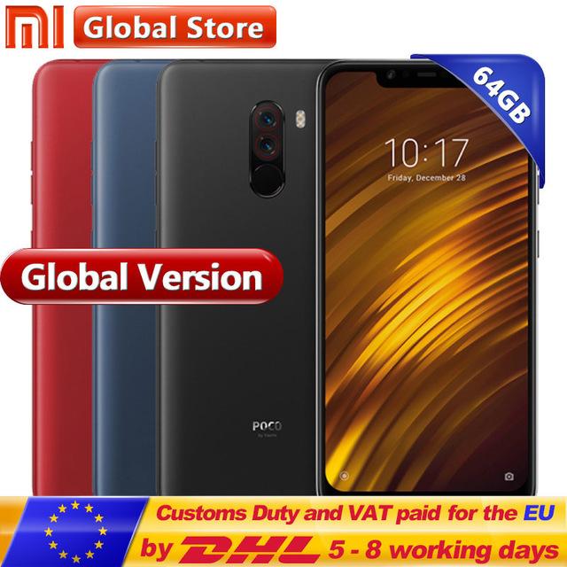 Versión Global Xiaomi POCOPHONE F1 64 GB