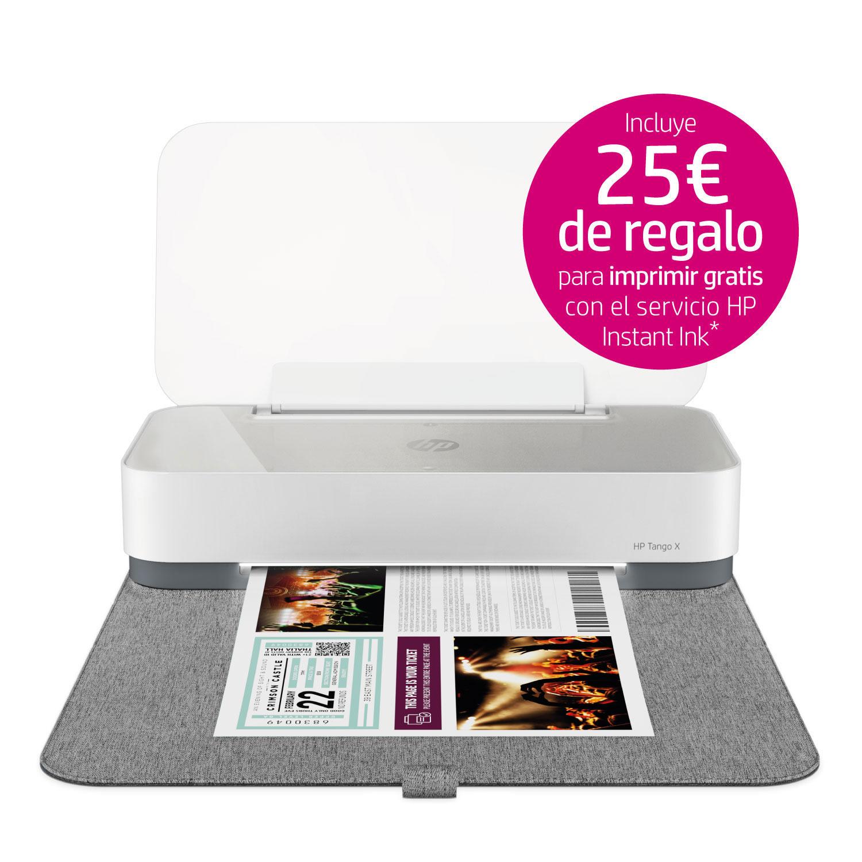 25€ de regalo para probar Instant Ink por la compra de una impresora HP.