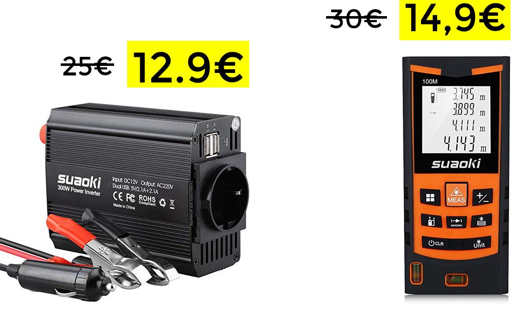 Telémetro láser de 100m solo 14.9€