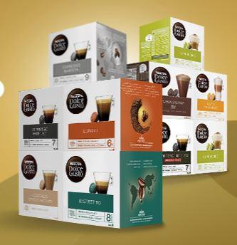 10 cajas a elegir Dolce Gusto 40€