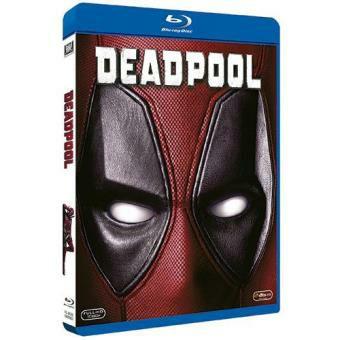 Deadpool 1 en blu ray por 7€ en Fnac y amazon
