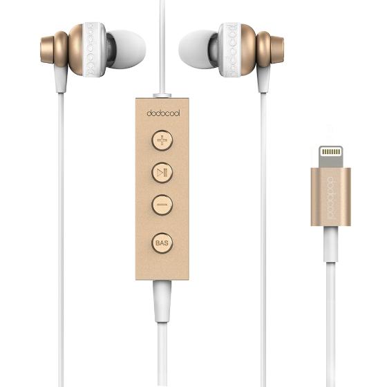 Dodocool MFi Certified Hi-Res In-ear auriculares estéreo