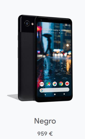 Google Pixel 2 128GB Negro