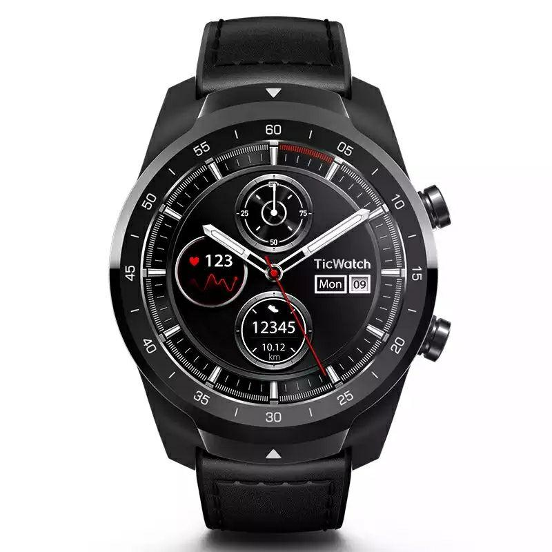 Ticwatch PRO. Smartwatch NFC