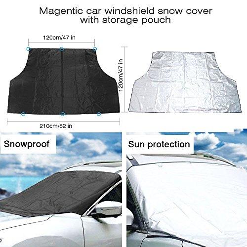 Protector para parabrisas, Anti hielo y Nieve en invierno
