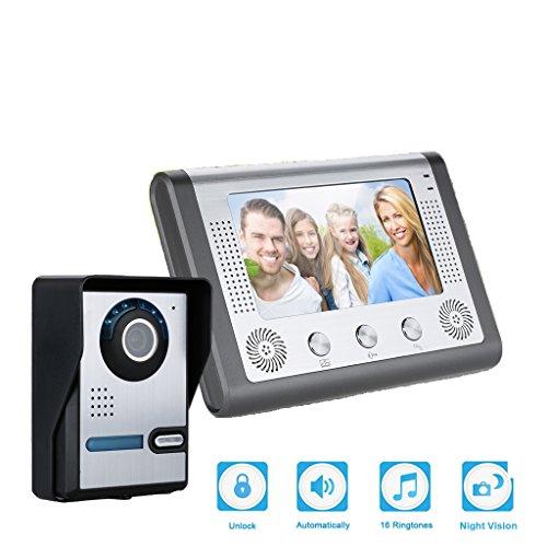 Videoportero Timbre Digital con cámara FLOUREON