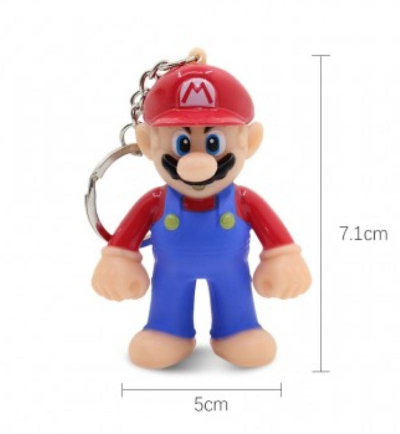 Llavero con luz y sonido Super Mario