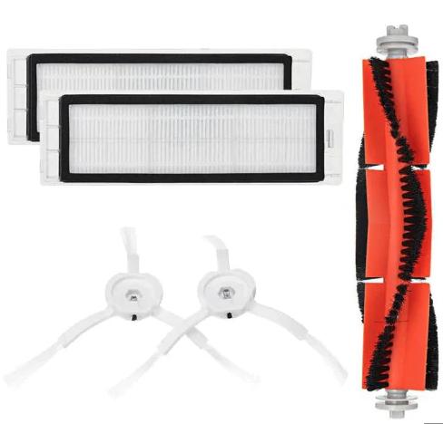 Cepillos y filtros  de recambio para el aspirador de Xiaomi