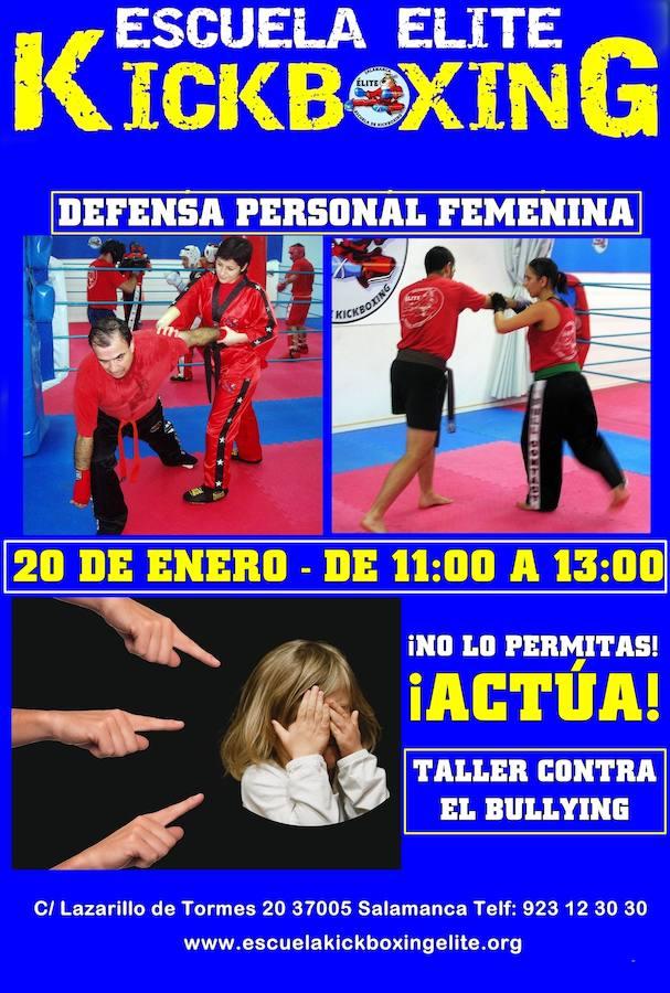 Curso gratuito defensa personal femenina en Salamanca