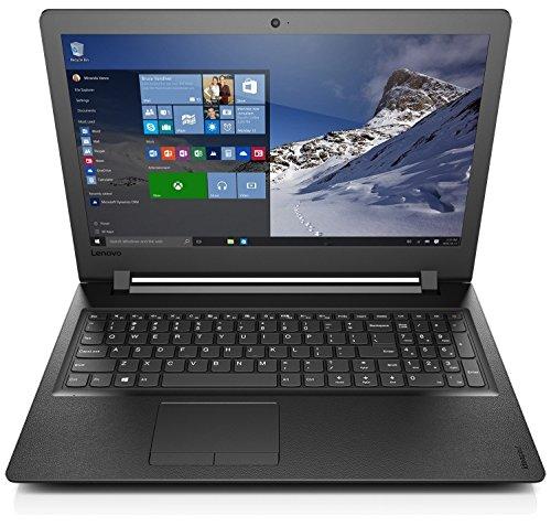 "Lenovo Ideapad 110-15- Portátil de 15.6""HD (Intel N3060, 4 GB de RAM, 500 GB de HDD, Sin Sistema Operativo), negro - teclado QWERTY Español"