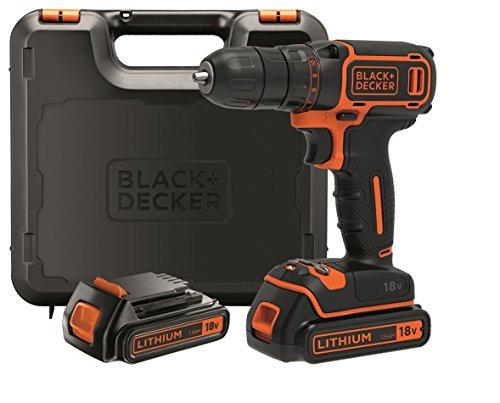 Black+Decker Taladro + 2 baterías