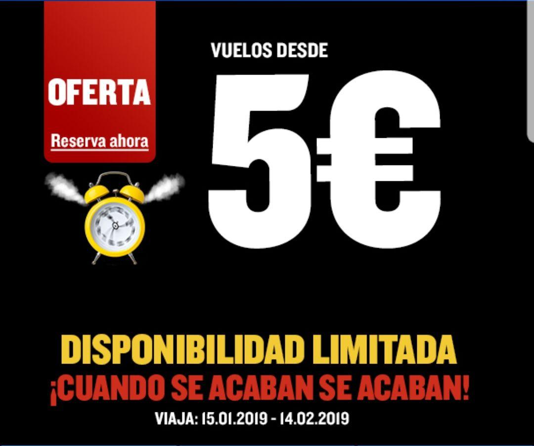 ¡VUELOS CON RYANAIR DESDE 2,43€!