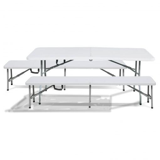 Mesa y sillas portátiles
