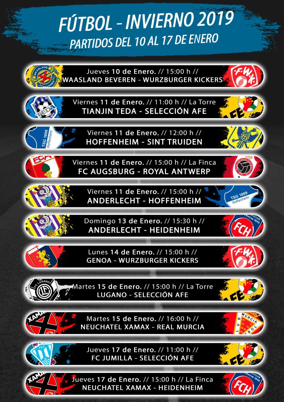 Entrada gratuita a 11 partidos fútbol internacional Pinatar Arena Murcia