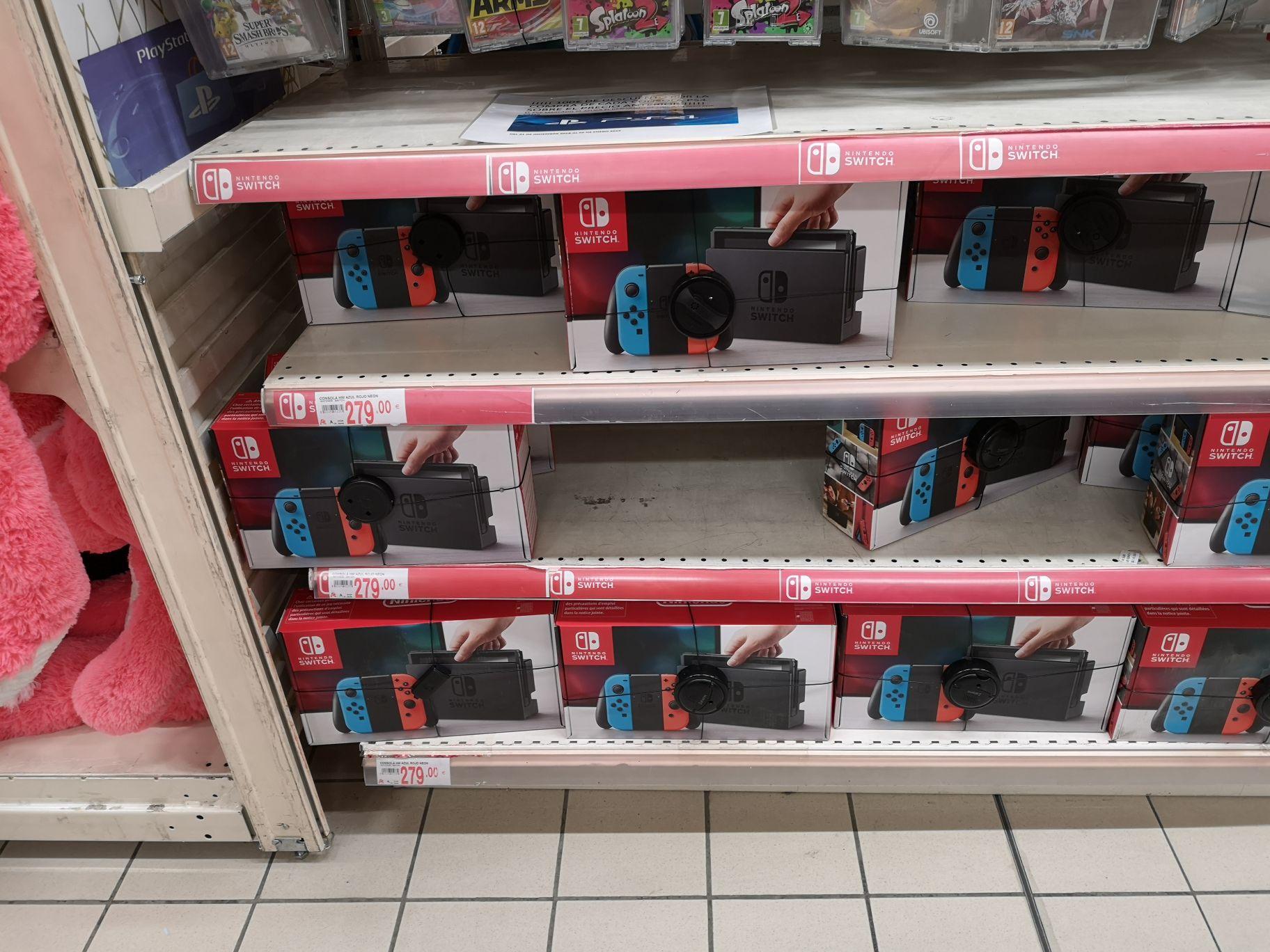 Nintendo Switch Alcampo Torrelodones