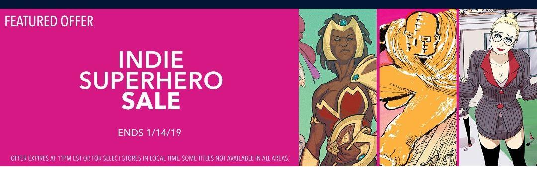 Rebajas en comics - Indie Superheroe