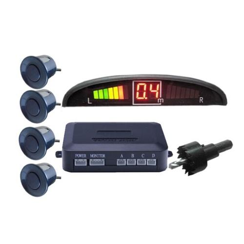 Sensor de aparcamiento por sonido