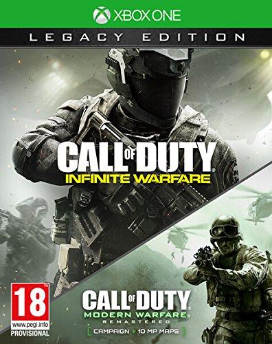 Call Of Duty: Infinite Warfare + Modern Warfare XBOX ONE  Legacy Edition