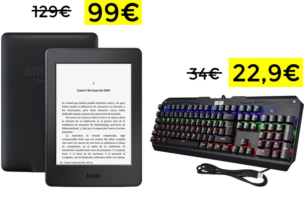 Paperwhite por 99€// Teclado mecánico Vtin 22.9€ [ofertas del día]