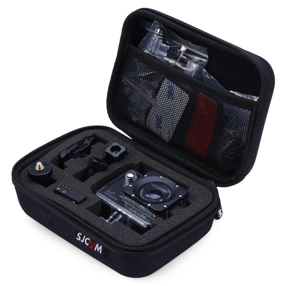 Estuche de transporte SJCAM original para cámaras de acción (compatible con varias marcas)
