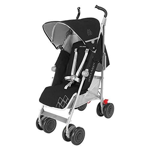 Maclaren Techno XT - Silla de paseo, color negro/plata