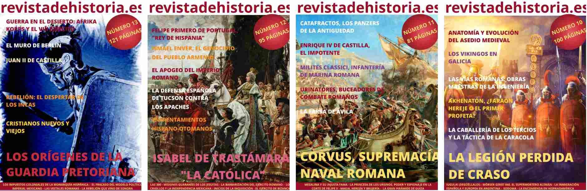 12 Revistas digitales de Historia durante un año